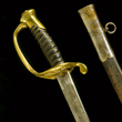 Confederate Officer's Sword Captured by Major James F. How