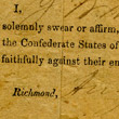 John Wharton's Oath to the Confederacy