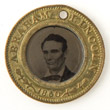 Campaign Token Supporting Abraham Lincoln