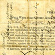 John Wharton's Oath to the Union